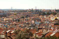 Vista de Lisboa desde o Miradouro do Monte Agudo