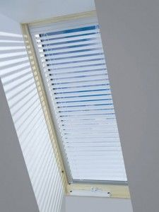 Skylight blinds, I have this in my kitchen. :o)