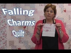 Falling Charms Quilt Tutorial - Quilting With Charm Packs.