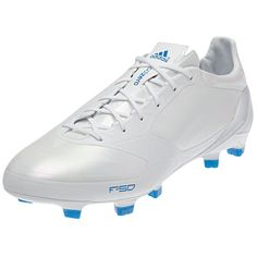 c2b9981cc0c adidas F50 adizero TRX FG Soccer Shoe (Synthetic)  G61872  Running White Running  White Bright Blue -  139.99 Save  30% OFF