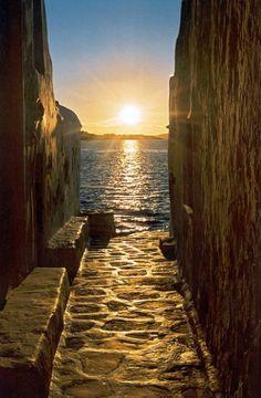 Path to the Sea, Mykonos, Greece