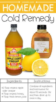 #3. Homemade Cold Remedy -- 22 Everyday Products You Can Easily Make From Home (for less!) These are all so much healthier, too!