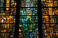 Tewkesbury - Modern Stained Glass by Tom Denny by Heaven`s Gate (John), via Flickr
