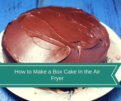 To Make A Boxed Cake Mix In the Air Fryer Air Fryer-How To Make A Cake (Boxed) in the Air FryerJohn Fryer John Fryer may refer to: Air Fryer Cake Recipes, Box Cake Recipes, Air Fryer Oven Recipes, Air Frier Recipes, Air Fryer Dinner Recipes, Real Food Recipes, Dessert Recipes, Desserts, Yummy Food