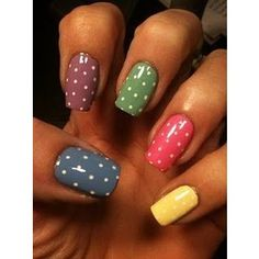 nails - daughter wants to try this later.