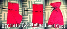 DIY Halloween Costumes: Little Red Riding Hood and the Wolf - The Love Bucket