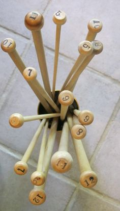 These knitting needles are so neat!