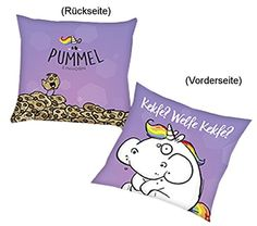 hellblau Sitz-Kissen Pummel /& Friends - Pummeleinhorn