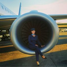 Azul Airlines Stewardess @airborneangels