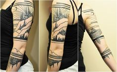 First tattoo: lighthouse and city by Thieves of Tower at 2Spirit Tattoo in SF, California - Imgur