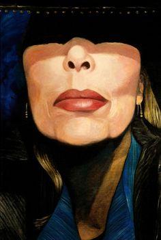 Joni Mitchell, Self-portrait, 2014 on ArtStack #joni-mitchell #art