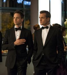 'Suits' ~ Gabriel Macht and Patrick J. Adams ~