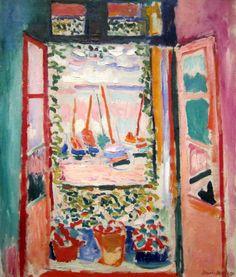 "Matisse ""La ventana abierta"" 1905"