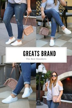 Ashley from Two Peas in a Prada shares her new favorite sneaker brand: GREATS.