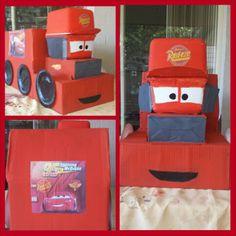Box craft - Mack from Cars