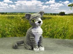 PATTERN  Crocheted Amigurumi Cat Pattern by sandsteeldesigns, $4.50
