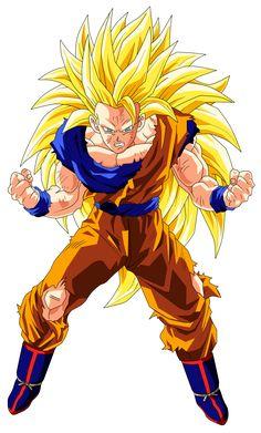 Goku Super Saiyan 3 by OriginalSuperSaiyan on deviantART