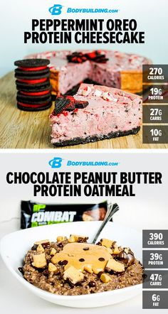5 Sweet #Protein Treats! Here are five surefire hits to keep your taste buds happy, your waistline slim, and your muscles growing at a rapid rate! Although the directions on some of these #recipes might look intimidating, they're actually quite simple. Bodybuilding.com