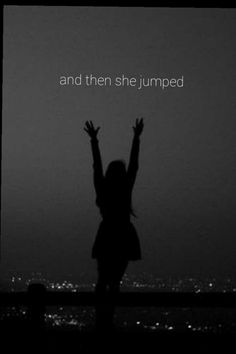 And then I jumped-sb