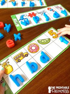 Hands on beginning sounds practice! Check it out.