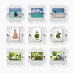 i've always wanted something like this. magnetic frames. Eva Zeisel Collection Set Of 9 now featured on Fab.