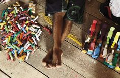 Brinquedos de miriti | Foto: Jarbas Oliveira |  Via Da Cor do Norte 85
