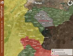 #Syrian Revolutionary Forces Need to Clear now #ISIS largest Pocket near the Turkish Border in Northern #Aleppo #Map Via @Nawaroliver