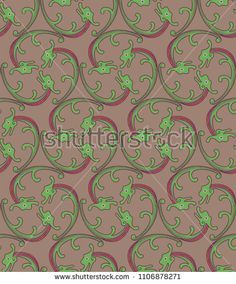 Stockvektor 1106878271 med Seamless Pattern Small Dragons Chasing Each (royaltyfri) Japanese Patterns, Japanese Style, Dragons, Kids Rugs, Illustration, Image, Pictures, Japan Style, Kid Friendly Rugs