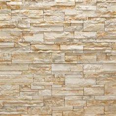 stacked stone facade