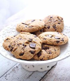 Amerikanske cookies uten sukker Healthy Baking, Clean Recipes, No Bake Desserts, A Food, Cake Recipes, Stevia, Healthy Lifestyle, Sweets, Snacks