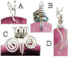 Wire Wrapping Jewelry Free Instructions | ... free to view our free jewelry designs and patterns for making jewelry