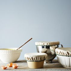 Linen Bowl Covers (Set of 6) on Food52: http://food52.com/provisions/products/1137-linen-bowl-covers-set-of-6 #Food52