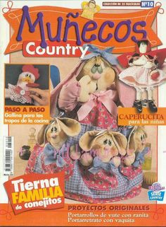 Album Archive - Muñecos Country No 10 Sewing Magazines, Fabric Toys, Picasa Web Albums, Book Crafts, Craft Books, Felt Toys, Soft Dolls, Black Bear, Quilt Making