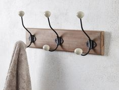 Morgan & Finch | BASIC WALL HOOKS X 3 - NATURAL