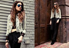 london badass outfit