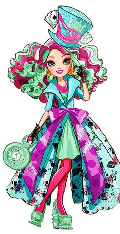 Monster High by Airi<<< Ever After High! NOT monster high! Arte Monster High, Monster High Dolls, Ever After High Rebels, High E, Chibi Kawaii, Ever After Dolls, Raven Queen, Film D'animation, Alice In Wonderland