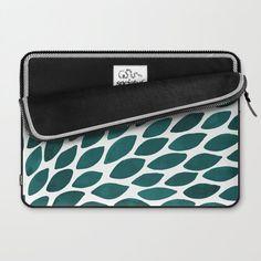 Modern and pretty laptop sleeves, pattern design by wackapacka.