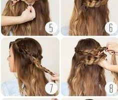 Hair Tutorials : Picture Description These 11 Easy & Quick Braids Will Save You SO MUCH TIME! There are half up styles, pony tails, and more! #EverydayHairstylesHalfUp