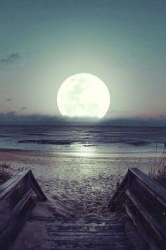 BEAUTIFUL NIGHT LA LUNA NOS OBSEQUIA UNA NOCHE SOÑADA.