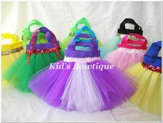 Princess bag party favors