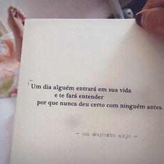 - um suposto anjo