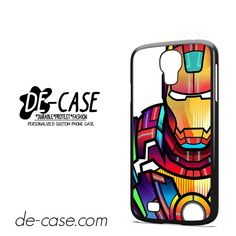 Ironman Colorful Art DEAL-5685 Samsung Phonecase Cover For Samsung Galaxy S4 / S4 Mini
