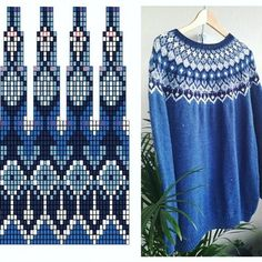 Double Knitting Patterns, Fair Isle Knitting Patterns, Sweater Knitting Patterns, Afghan Crochet Patterns, Knitting Charts, Knitting Stitches, Knit Patterns, Free Knitting, Clothing Patterns