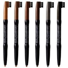 NYX Auto Eyebrow Pencil These are great, they last all day.