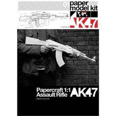 1:1 paper AK 47