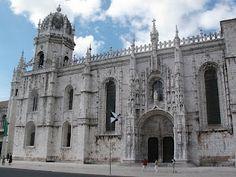 The original Manuelin style - Mosteiro dos Jerónimos