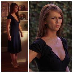 """Melinda Gordon's (Jennifer Love Hewitt) Prada dress on Ghost Whisperer Season 3 Episode 3 """"Haunted Hero"""""""