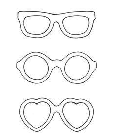 Bildergebnis für zonnebril tekening