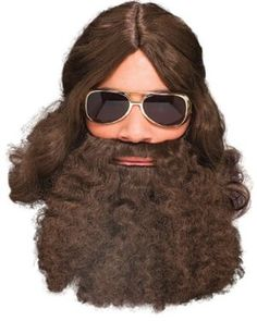 Long Brown Beards For Duck Dynasty Halloween Costumes