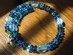 pretty rosary bracelet